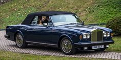 The Rolls-Royce Corniche is an automobile that was produced by Rolls-Royce from 1971 to 1995. It was offered as a two door coupé and as a two door convertible.