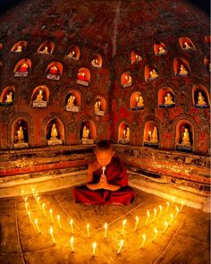 The lamps are different But the light is the same.  Rumi