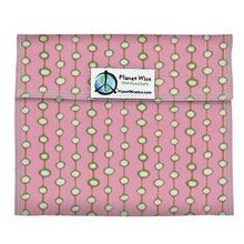 Planet Wise Sandwich and Snack Bags, Pink Olives Print. Available at OurPamperedHome.com