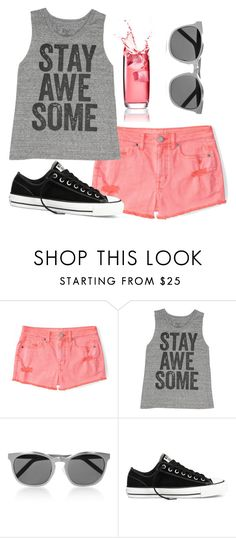 """awesome"" by moria801 ❤ liked on Polyvore featuring Aéropostale, Billabong, Alexander Wang and Converse"