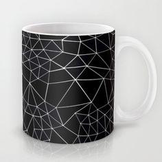 Segment Mug #black #white #blackandwhite #segment #geometric #projectm