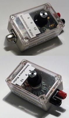 Ham Amateur Radio Antennas: End Fed Antenna Varible Impedance (Unun) Transformer -> BUY IT NOW ONLY: $37.5 on eBay!