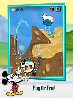 Where's My Mickey? Free App by Disney. Puzzle kids games apps.