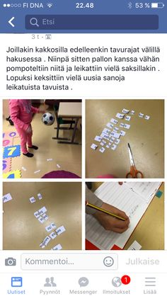Tavuttaminen Special Education, Dna, Little Ones, Language, Teacher, Singapore, Writing, Reading, School