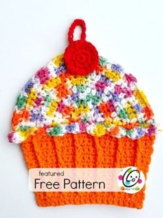 twinkie dish cloth. Free crochet pattern