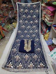 Heavy Designer Gota Patti Suit. Designer georgette semi stitched suit. Georgette shirt with neck gota and full handwork designer border. Pure fully stylish gota work dupatta. Shantoon bottom. 10 colors available. Only in 3875 + shipping No COD Only Net Banking, Paytm accepted. call / What's Up :- 9373888990