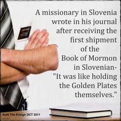 Members and missionaries always rejoice when a new translation comes out. It's hard to teach or understand the gospel in a 2nd language, even if one is fluent. Most people enjoy reading scriptures in their native language.