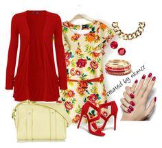 """Flores radiantes"" by nkmcr #moda #nkmcr #fashionblogger #blogger #tendencia #fashion #blog #lifestyle #nkm #nakimicr #look"