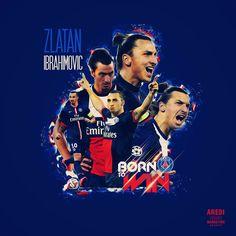 Zlatan Ibrahimovic, PSG, Paris Saint-Germain, football, sport, illustration, poster, design, sports media, soccer, graphic, social, AREDI, #sportaredi