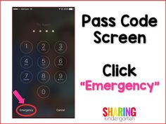 Pass Code Screen wit