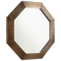 Cyan Design Octagon 28 X 28 inch Silver Wall Mirror Large 09131 - Open Box Mirror Wall Collage, Wall Mirrors Entryway, Big Wall Mirrors, Mirror Gallery Wall, Lighted Wall Mirror, Black Wall Mirror, Rustic Wall Mirrors, Contemporary Wall Mirrors, Mirror Panels