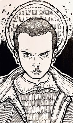 Free Stranger Things coloring pages