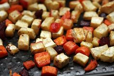 David Lebovitz wild rice salad with roasted vegetables
