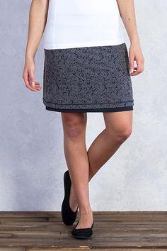 Women's Wanderlux™ Reversible Texture Skirt   ExOfficio.com Convertible Clothing, Lace Skirt, Sequin Skirt, Texture, Safari, Skirts, Charcoal, Image Link, Clothes