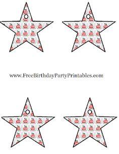 9th Birthday, Boy Birthday Parties, Birthday Ideas, Youtube Birthday, Youtube Party, Instagram Party, Party Themes, Party Ideas, Star Decorations