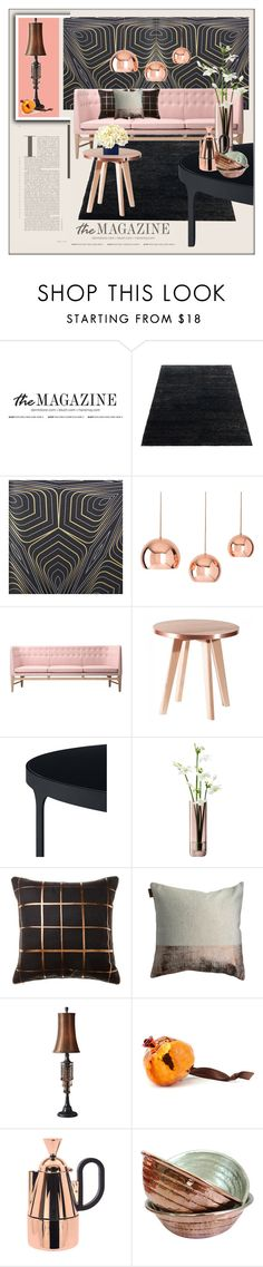 """""""Accessorise Your Room With Beautiful Copper"""" by frenchfriesblackmg ❤ liked on Polyvore featuring interior, interiors, interior design, home, home decor, interior decorating, Burke Decor, Shiraleah, &Tradition and LSA International"""