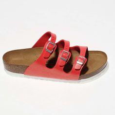 birkenstock florida red sandals