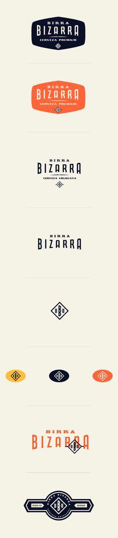 Birra Bizarra Logos
