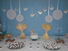 ideias para decorar velas de batismo - Pesquisa Google