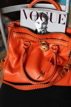 great orange bag