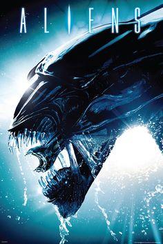 Alien Film, Alien Movie Poster, Aliens Movie, Alien Art, Alien From Alien, Movie Posters, Splash Movie, Ahri Wallpaper, Predator Alien