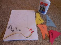 Letter Kk- k is for kit puzzle
