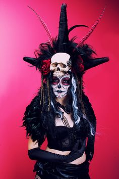 Day of the Dead Witch Doctor Costume