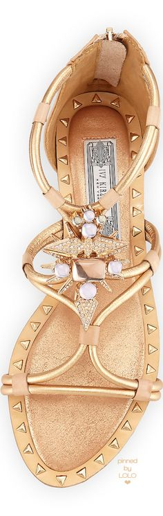 Ivy Kirzhner Basil Studded Ornament Sandal | LOLO❤︎