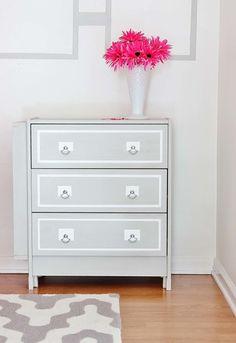 Ikea rast 3 drawer dresser hack
