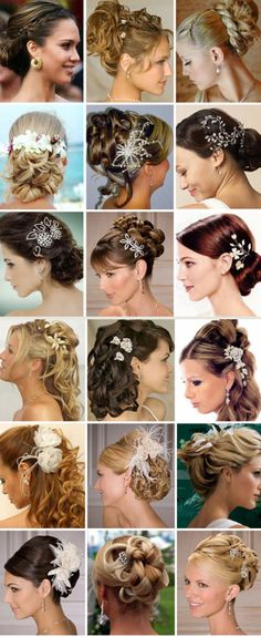 Totally lovely romantic  side bun wedding medium hair | Dreams Into Dresses: The 7 Best Pretty Hairstyles for Your Wedding Day, Jennifer Lawrence updo is still formal, but fun and romantic. This look would be great for a fall wedding or for  a modern bride who isn't afraid of playing with texture in her hair