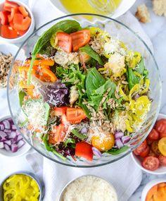 HowSweetEats House Salad.