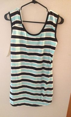 WORKSHOP Andrea Jovine  Modal Cotton Striped TANK TOP