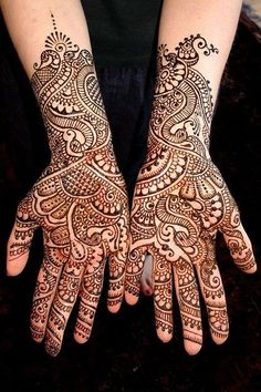 Rock Your Hands With These Latest Mehndi Designs