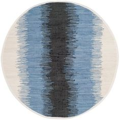 Montauk Grey or Black Round Area Rug from Safavieh adds style and innovation to your indoor decor. Comes with elegant carpet. Wall Carpet, Rugs On Carpet, Gray Carpet, Coastal Area Rugs, Round Area Rugs, Blue Ivory, Rug Material, Beach House Decor, White Area Rug