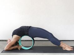 Build strength and flexibility by incorporating yoga wheels into your workouts and stretching routines