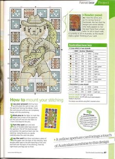 ru / Photo # 51 - The world of cross stitching 157 - tymannost Mini Cross Stitch, Cross Stitch Charts, Cross Stitch Designs, Cross Stitch Patterns, Stitch Stuffed Animal, Stuffed Animals, Cross Stitching, Cross Stitch Embroidery, Jo Loves