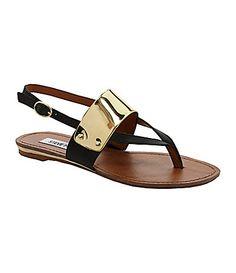 Steve Madden Cufff Flat Sandals #Dillards