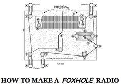 Emergency Foxhole Radio, how to make