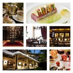 Dining at the Langham Huntington Hotel - Pasadena, CA
