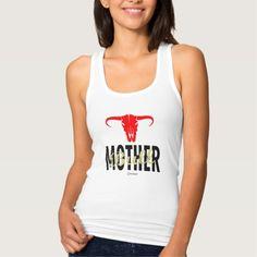 Mother Mama Bull by VIMAGO Tank Top #christmas #womensfashion #xmas #womensclothing