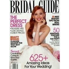 BRIDAL GUIDE bringt exklusive Brautmoden für den schönsten Tag im Leben und läd ein zum Träumen.