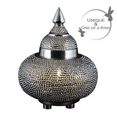 Rock the Casbah Morrocan Style Table Lamp | Table Lamp
