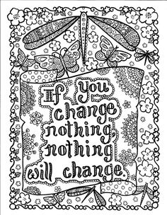 Instant Download Be BrAvE Coloring Book by ChubbyMermaid on Etsy, $4.00