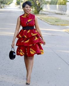 100 Ankara Short Gown Styles Designs 2019 (Updated Weekly) T. - 100 Ankara Short Gown Styles Designs 2019 (Updated Weekly) Three layers Ankara Gown Source by - African Fashion Ankara, Latest African Fashion Dresses, African Print Fashion, Africa Fashion, Short African Dresses, Ankara Short Gown Styles, African Print Dresses, Short Gowns, Ankara Gowns