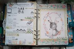 Creative Pages by amaryllis775: Filofaxing KW 45, magical forest
