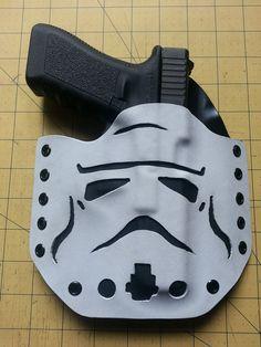 Storm Trooper Inspired Kydex Gun Holster #StarWars