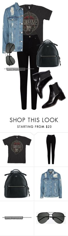 """Sans titre #3122"" by christina95styles ❤ liked on Polyvore featuring EAST, Fendi, Topshop, Zimmermann and Yves Saint Laurent"