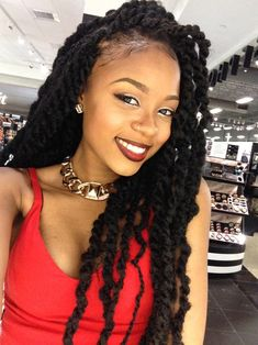 So much like. The lipstick, the lip liner, the shiny eyeliner, the eyebrows. Braids. http://www.mycurls.co.uk