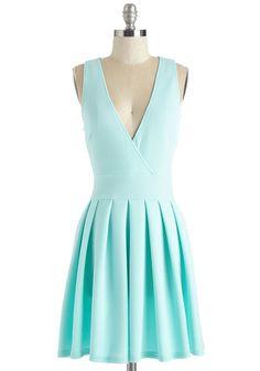 Witness the Wonder Dress. #blue #modcloth