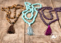 """The word """"Mala"""" literally translates to a """"garland of beads, flowers or prayers"""", but what else do you know? Learn more about Malas now >>"""